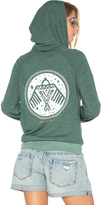 Spiritual Gangster Native Bird Stamp Savasana Hoodie