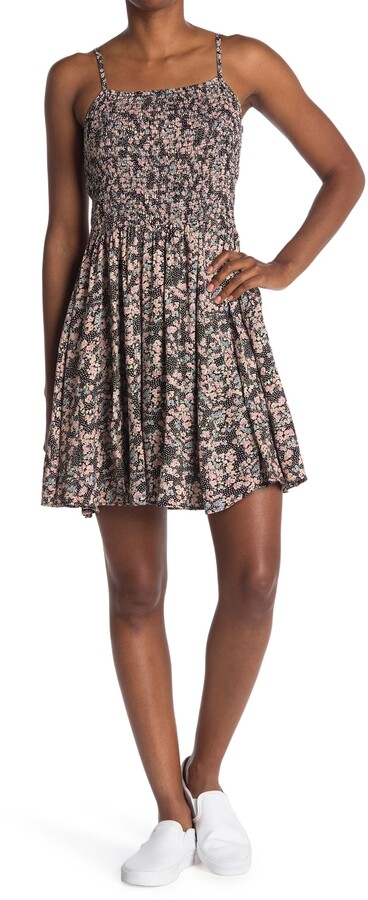 Thumbnail for your product : Angie Smocked Bodice Swing Dress