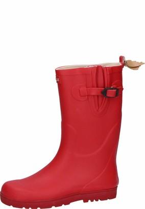 Aigle Unisex Kids Woody-pop Wellington Boots Red (Cerise) 9 CHILD UK (27 EU)