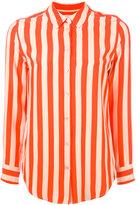 Equipment striped shirt - women - Silk - XS