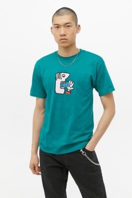 Obey Still Hungry Green T-Shirt - Green S at Urban Outfitters