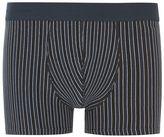 Selected Homme Navy Stripe Trunks
