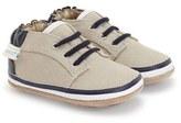 Robeez 'Tyler Low Top' Crib Shoe (Baby)