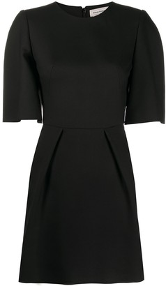 Alexander McQueen Slim Short Wool Dress