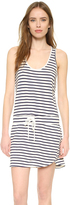 Monrow Stripe Tennis Dress