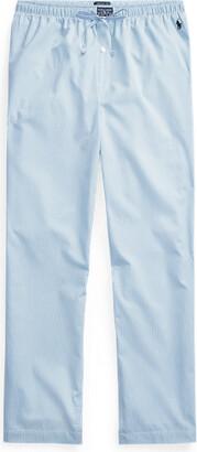 Ralph Lauren Gingham Cotton Sleep Trouser