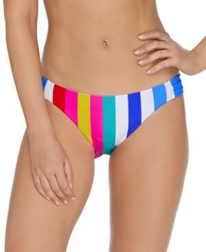 Raisins Juniors' Coast To Coast Triple-Side Strap Bikini Bottoms Women's Swimsuit