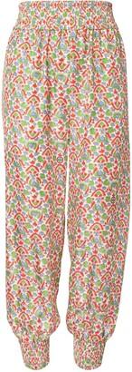 Tory Burch Printed Pajama Pant