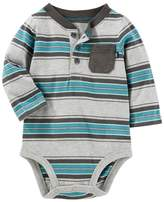 Osh Kosh Baby Boy Striped Bodysuit