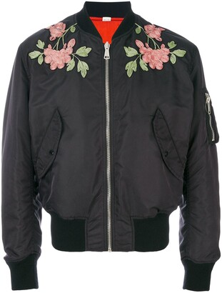 Gucci Reversible Embroidered Bomber Jacket
