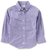 Class Club Little Boys 2T-7 Long-Sleeve Gingham Shirt