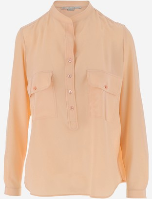 Stella McCartney Peach pink Silk Women's Blouse