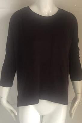 RD Style Burgundy Crew-Neck Pocket-Sweater