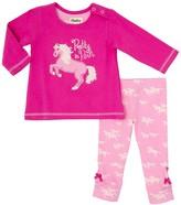 Hatley Fairy Tale Horses Tee & Legging Set (Baby Girl)