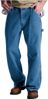 Dickies Men's Relaxed Fit Denim Carpenter Jeans