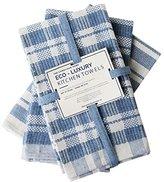 "Eco Luxury Kitchen Towels, 100% Cotton Upcycled, Set of 3, 20 x 24 """