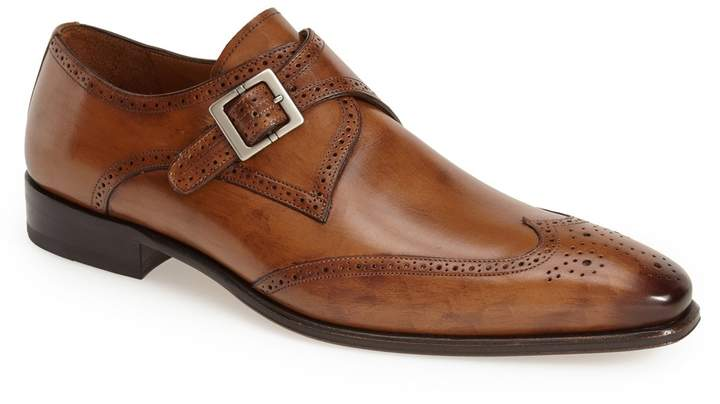Mezlan 'Vitoria' Monk Strap Oxford