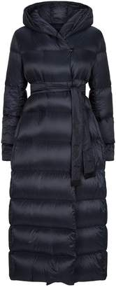 Max Mara The Cube Longline Quilted Coat