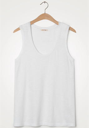 American Vintage Jacksonville White Vest - Small