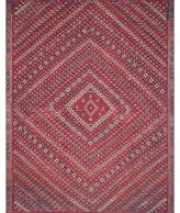 Magnolia Home By Joanna Gaines Magnolia Home by Joanna Gaines Lucca 2-Foot 6-Inch x 9-Foot 6-Inch Runner in Red/Multi