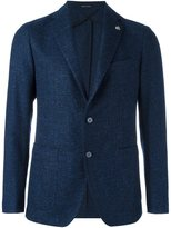 Tagliatore tweed blazer - men - Silk/Linen/Flax/Polyamide/Wool - 54
