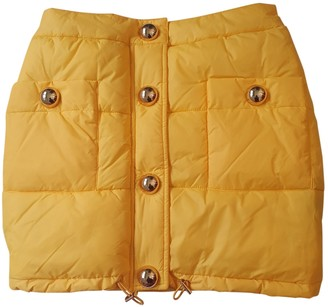 Moschino For H&m Yellow Skirt for Women