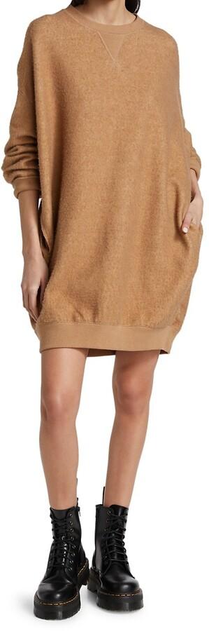 Thumbnail for your product : R 13 Crewneck Sweatshirt Dress