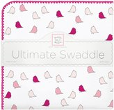 Swaddle Designs Little Chickies Ultimate Receiving Blanket - Very Berry