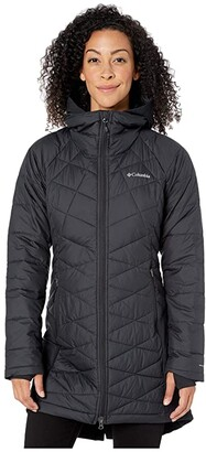 Columbia Heavenlytm Long Hybrid Jacket (Black) Women's Coat