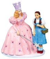 Kurt Adler OZ0112 6 in. Porcelain Dorothy and Glinda Tabletop