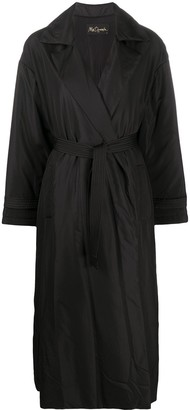 Mes Demoiselles Notched-Collar Belted Coat