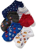 Old Navy 6-Pack Ankle Socks for Girls