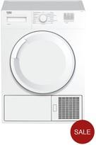 Beko DTGC8000W 8kg Load, Full Size Tumble Dryer - White