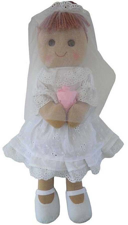 Little Ella James Bride And Bridesmaid Rag Dolls