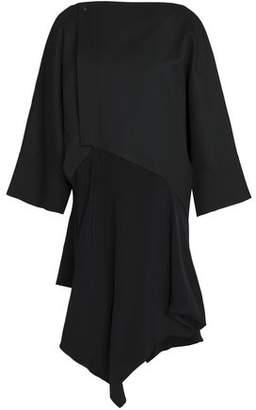 Chalayan Asymmetric Paneled Wool Jacket