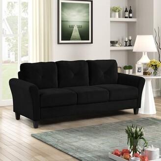 "Winston Porter Grayson Micro-Fabric Sofas, 80.3""X33.1""X30.7"""