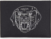 Givenchy Rottweiler Leather Card Holder