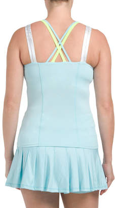 Tennis Criss Cross Mesh Camisole