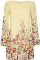 Yumi Wildflower Print Tunic Dress