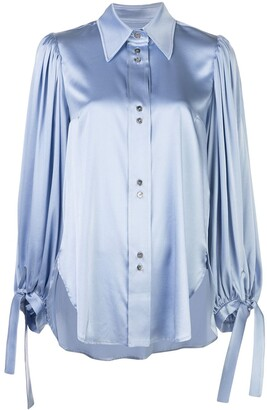 Ellery Monpi balloon-sleeve shirt