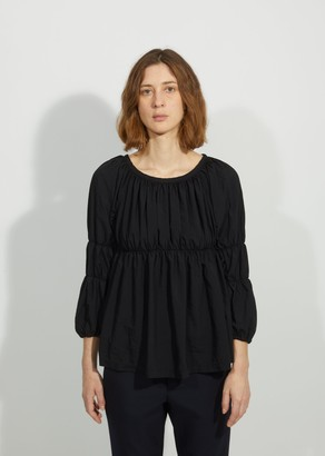 Comme des Garcons Garment Treated Cinched Blouse