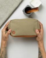 Mi-Pac Canvas Toiletry Bag In Khaki