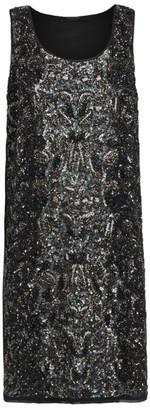 AllSaints Bead-Embellished Brellie Dress