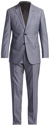 Emporio Armani Super 130 Virgin Wool Suit
