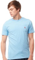 U.S. Polo Assn. Mens York T-Shirt Alaskan Blue