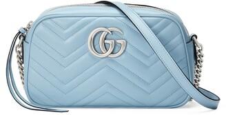 Gucci Small GG 2.0 Matelasse Leather Camera Bag