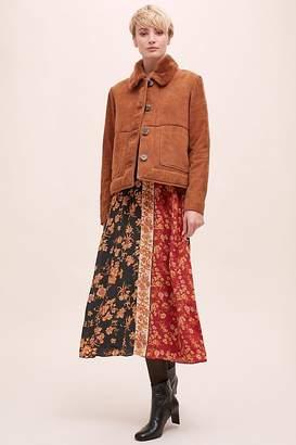 Selected Suede Fur Jacket
