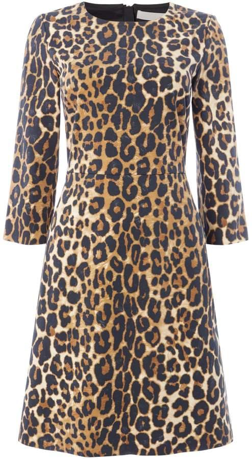 Oui Leopard print dress