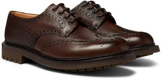 Church's Mcpherson Pebble-Grain Leather Wingtip Brogues