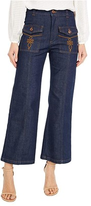 See by Chloe Front Pocket Jeans (Royal Navy) Women's Jeans